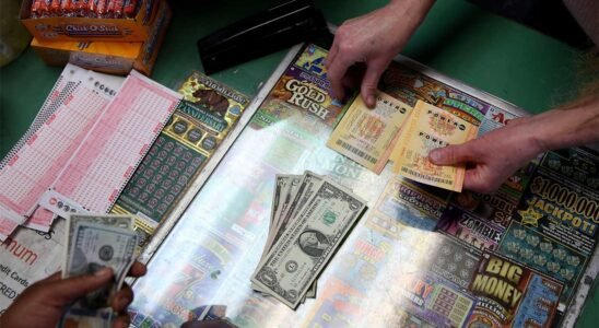 cash from lotteries